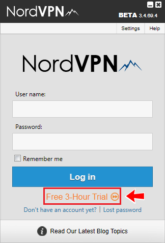 Nordvpn trial free