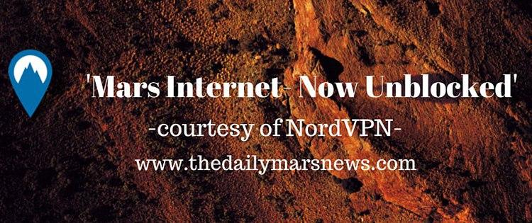 the Internet on Mars Unblocked