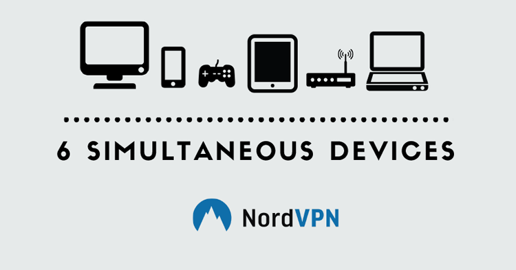 NordVPN- Now Offering 6 Simultaneous Connections