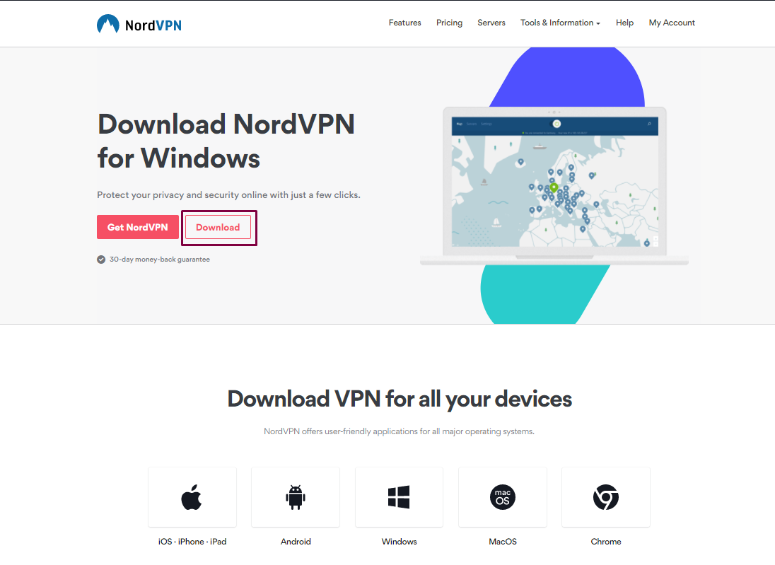 nordvpn windows 7