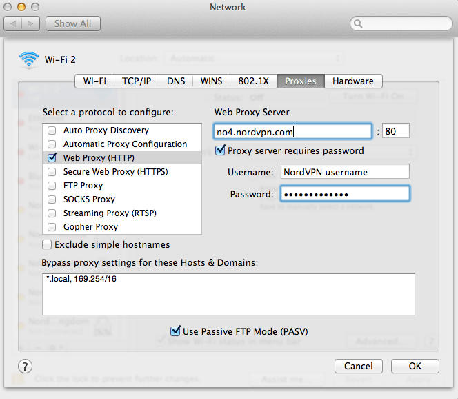 Adding Proxy To Java