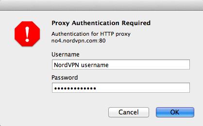 How to setup HTTP Proxy on Safari Browser | NordVPN
