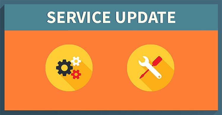 Service update december