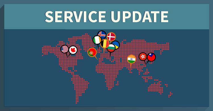 new vpn servers