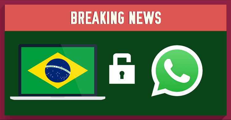 Unblock WhatsApp in Brazil with NordVPN