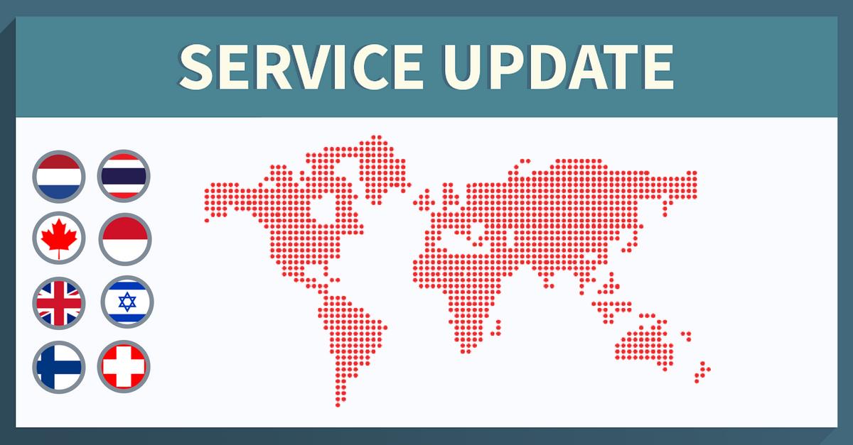 Service Update: 38 New Servers Added