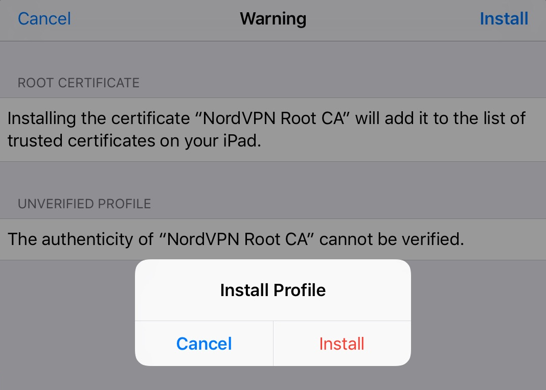 How to Configure IKEv2/IPsec on iOS? | NordVPN
