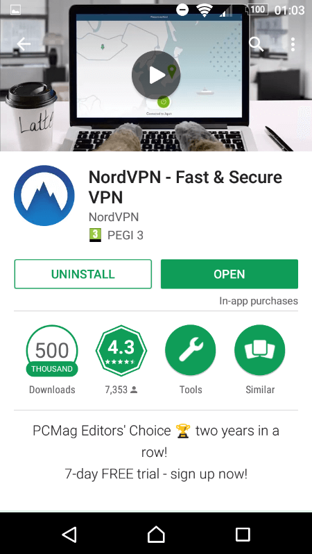 How to create nord vpn account