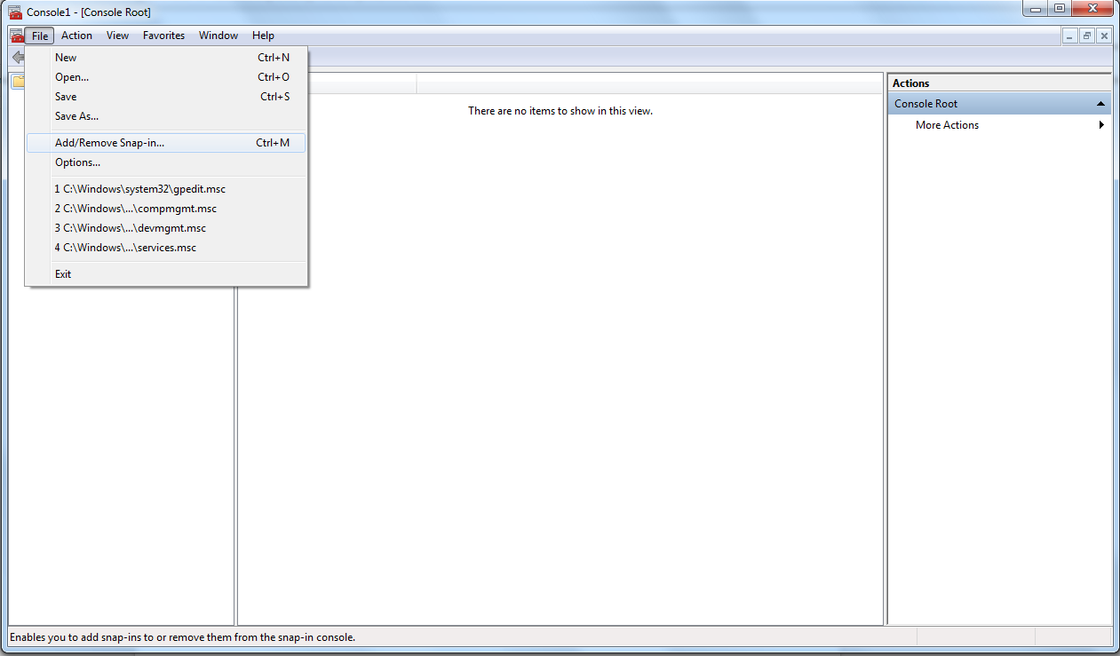 IKEv2/IPSec for Windows 7