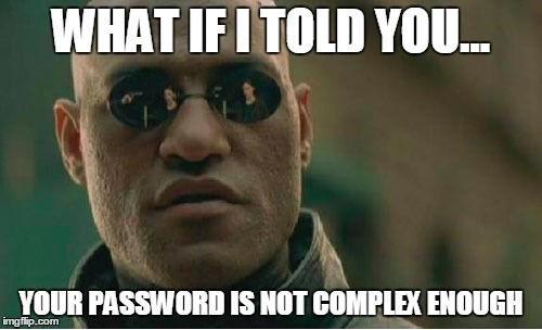 Schwaches WLAN-Passwort