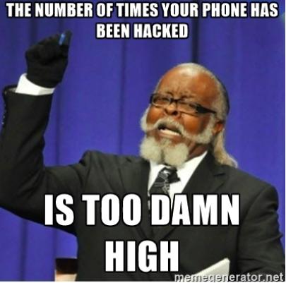 Der Gedanke, dass dein Smartphone von Natur aus sicher ist