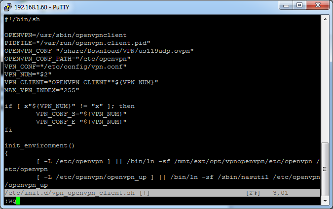 how to open ovpn file