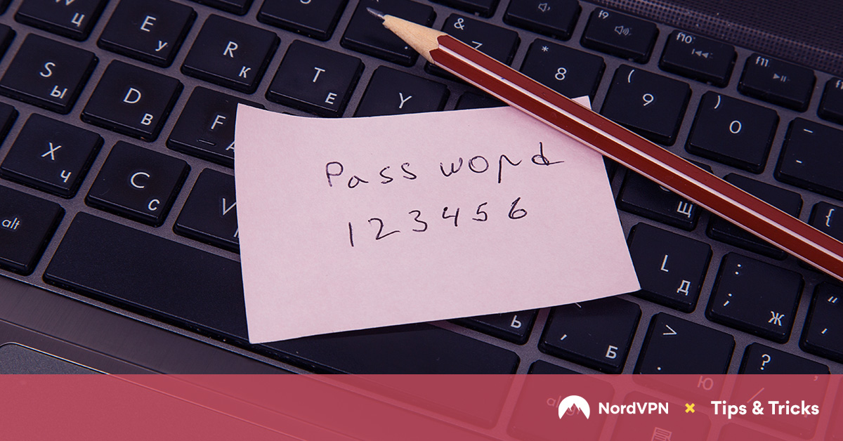 Avoiding weak passwords