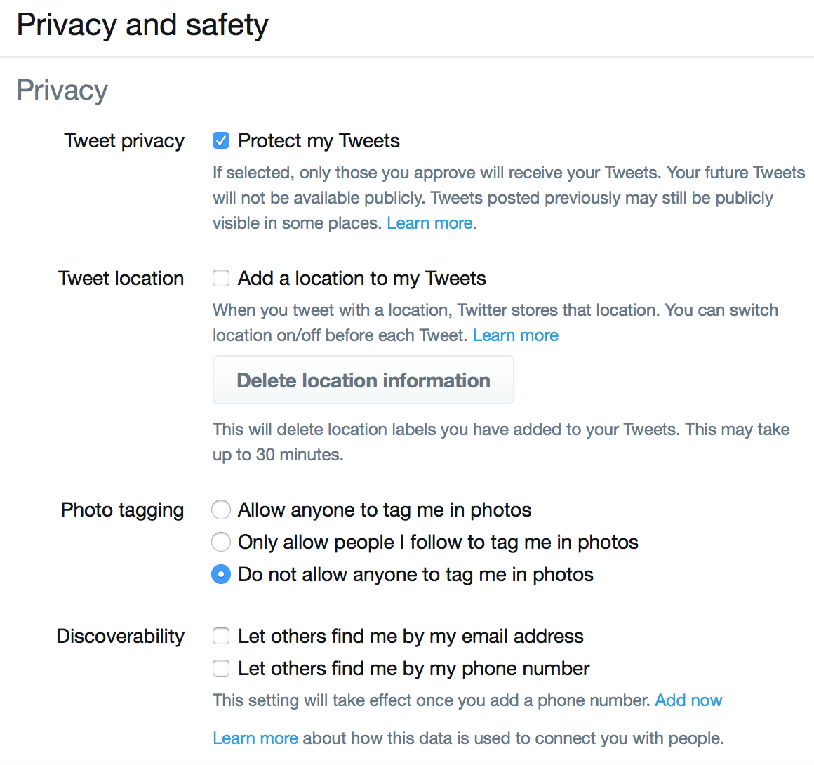 How to change your Twitter security settings