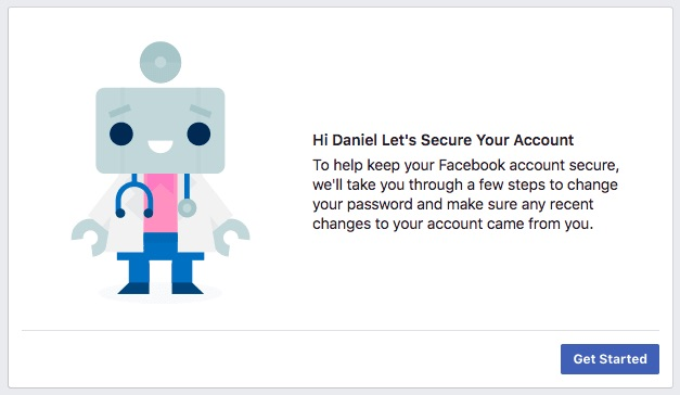The tool will help you secure your Facebook account.