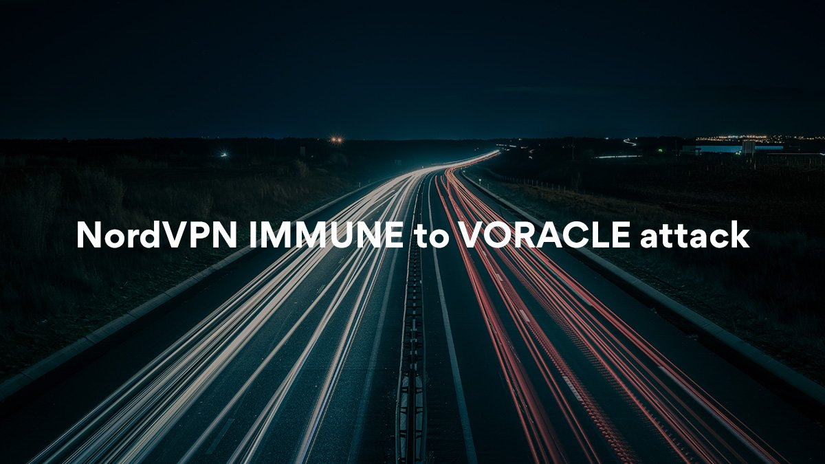 NordVPN safe from new VORACLE VPN hack