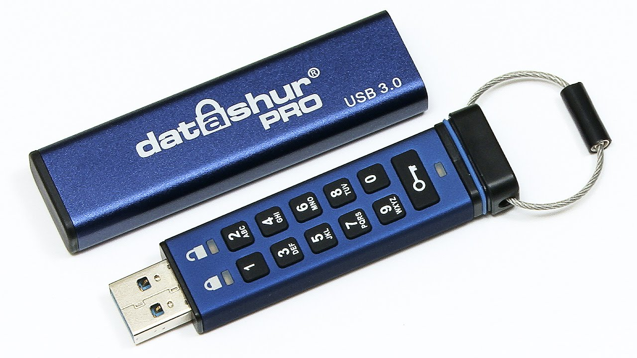 Encrypted USB drive