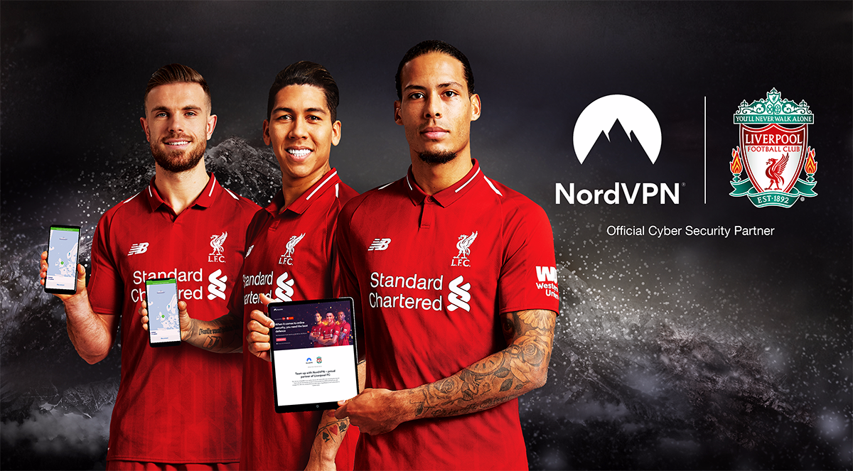 NordVPN Becomes Liverpool Football Club's Cyber Security
