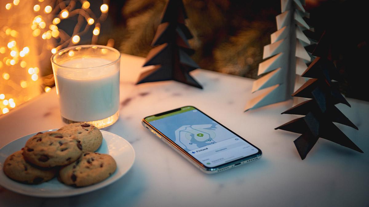 Santa Claus uses NordVPN