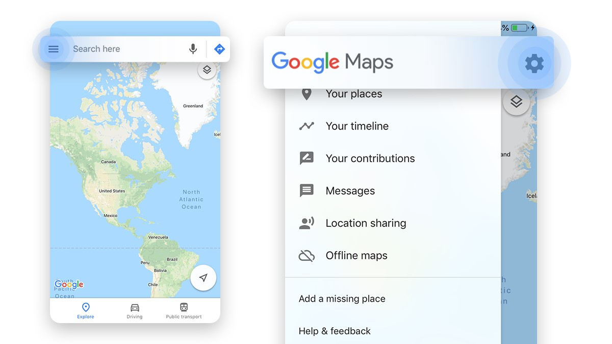 How to delete Google location history on an iPhone