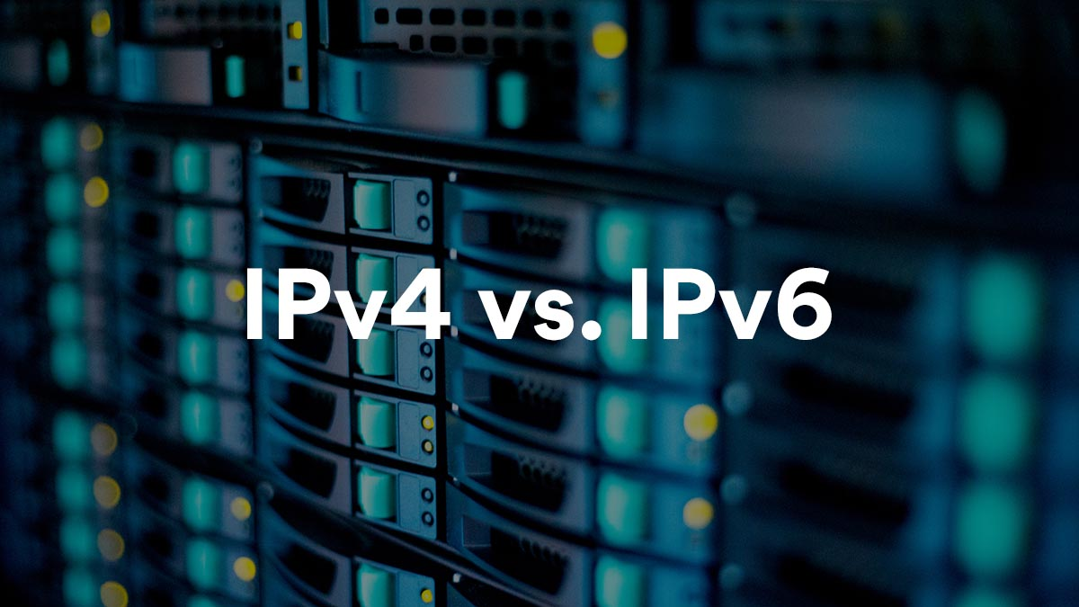 What's the difference between IPv4 and IPv6?
