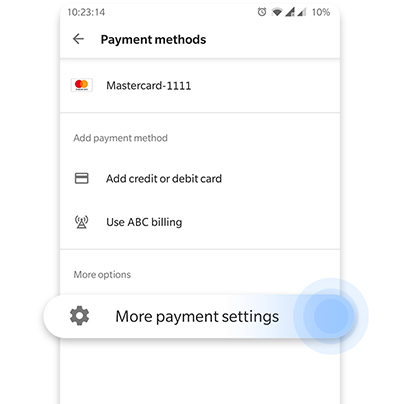 more-payment-settings