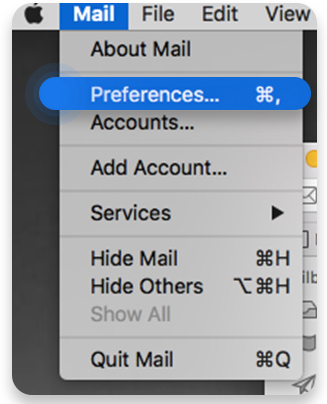 Turn off automatic image loading on Apple Mail
