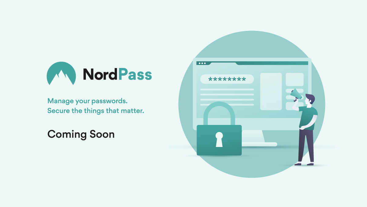 Introducing the NordPass password manager