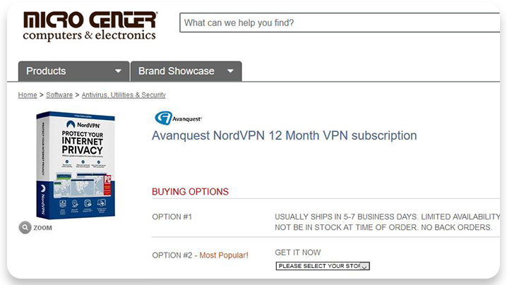 You can now buy NordVPN subscription box and get it