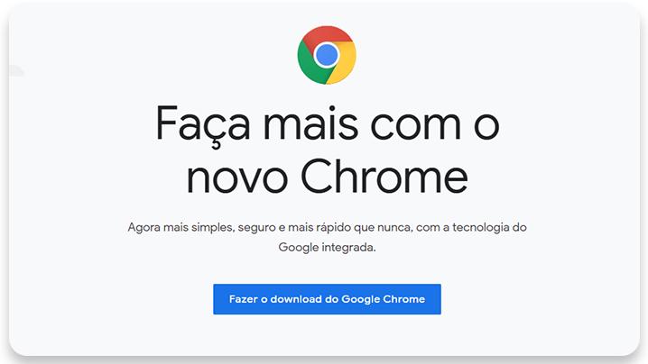 melhores navegadores: chrome