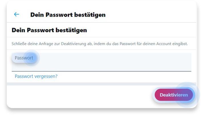 twitter account löschen (pc): schritt 4