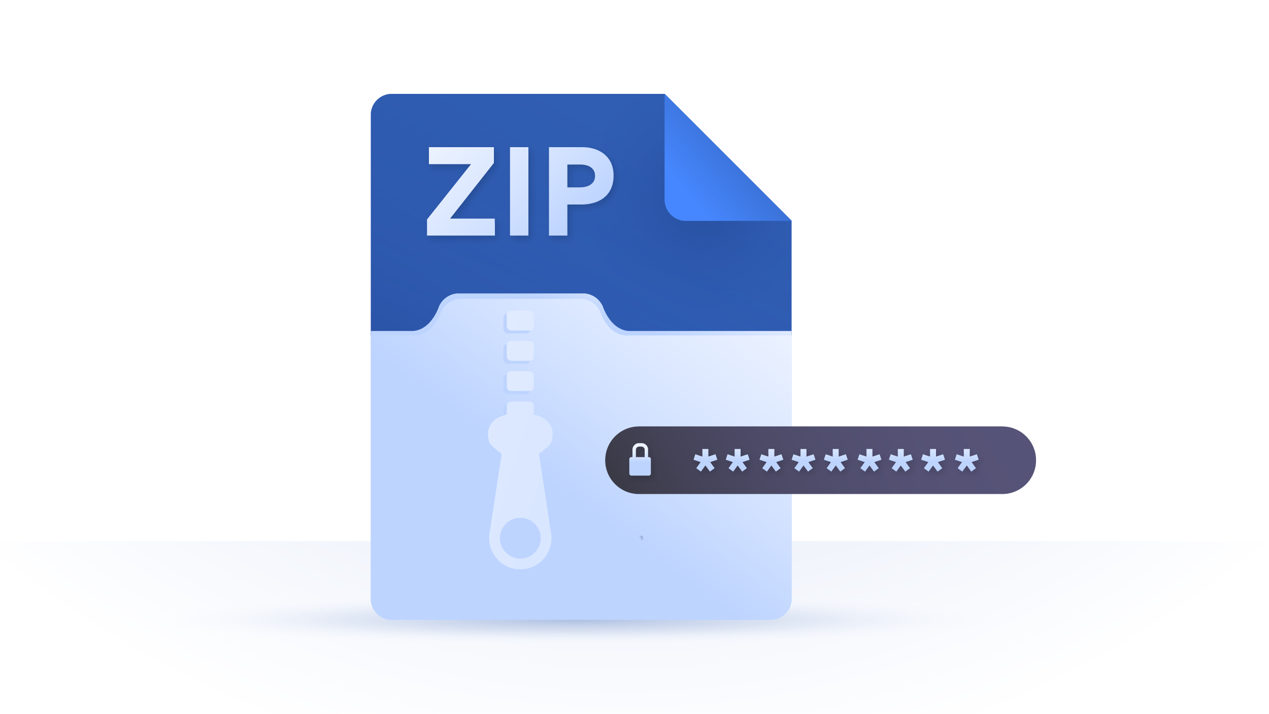 How to password protect a ZIP file on Windows 10