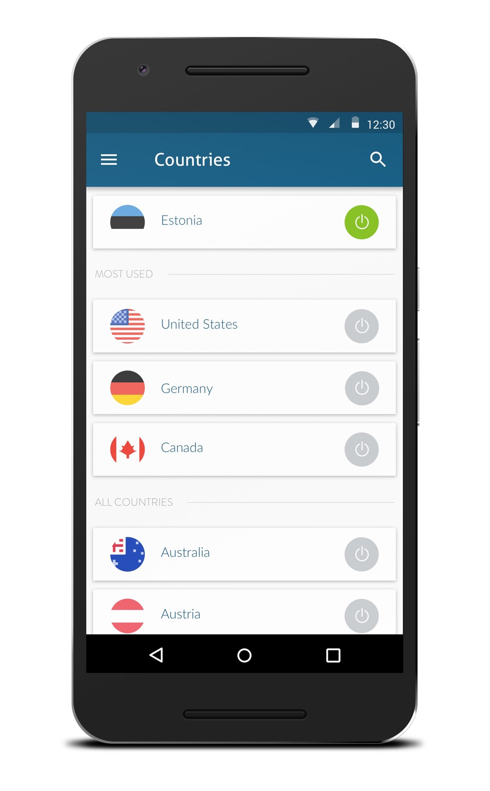 android app countries