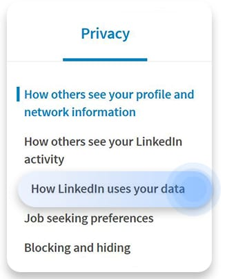 How to download your LinkedIn data