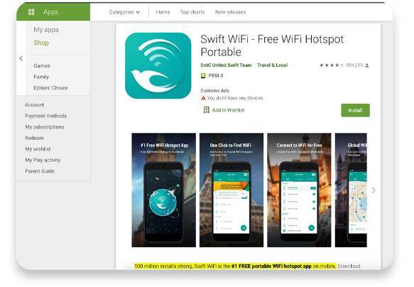Swift Wifi