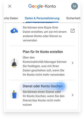 So löscht ihr Gmail von eurem iPhone aus Schritt 2