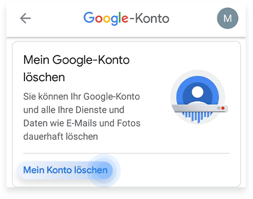 So löscht ihr Gmail von eurem iPhone aus Schritt 3
