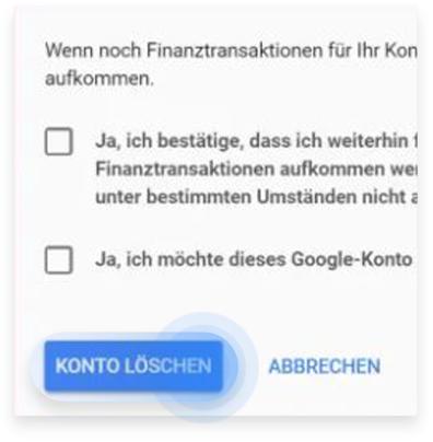 So löscht ihr Gmail von eurem iPhone aus Schritt 4