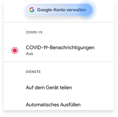 Ein Gmail Konto bei Android löschen Schritt 2