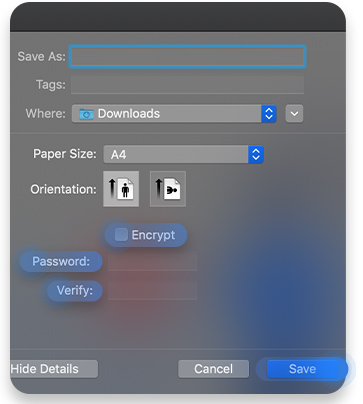 How to password protect pdf