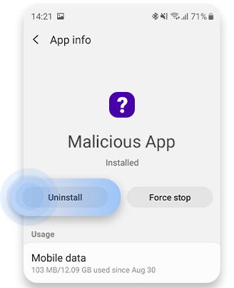 uninstall-the-app