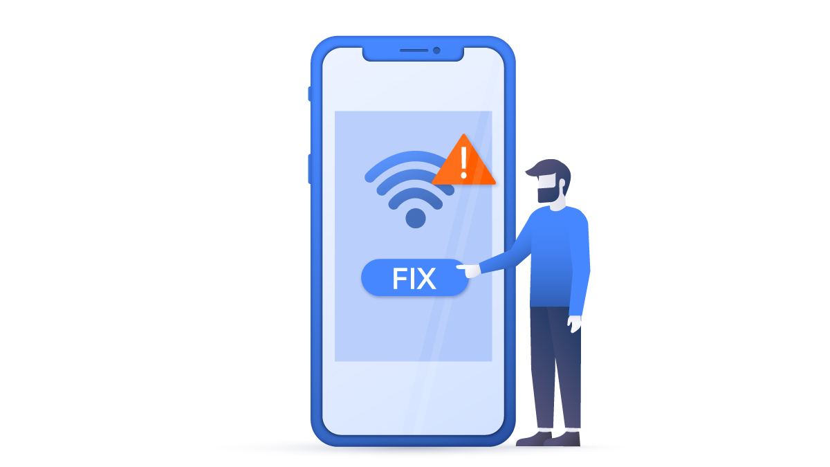 """How to fix """"Failed to obtain IP address"""" error on Android 