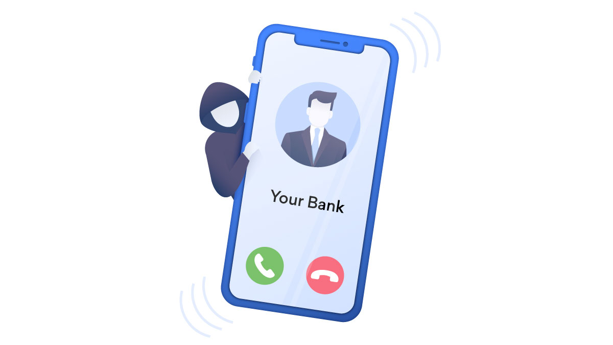Vishing scammers can pose as bank representatives