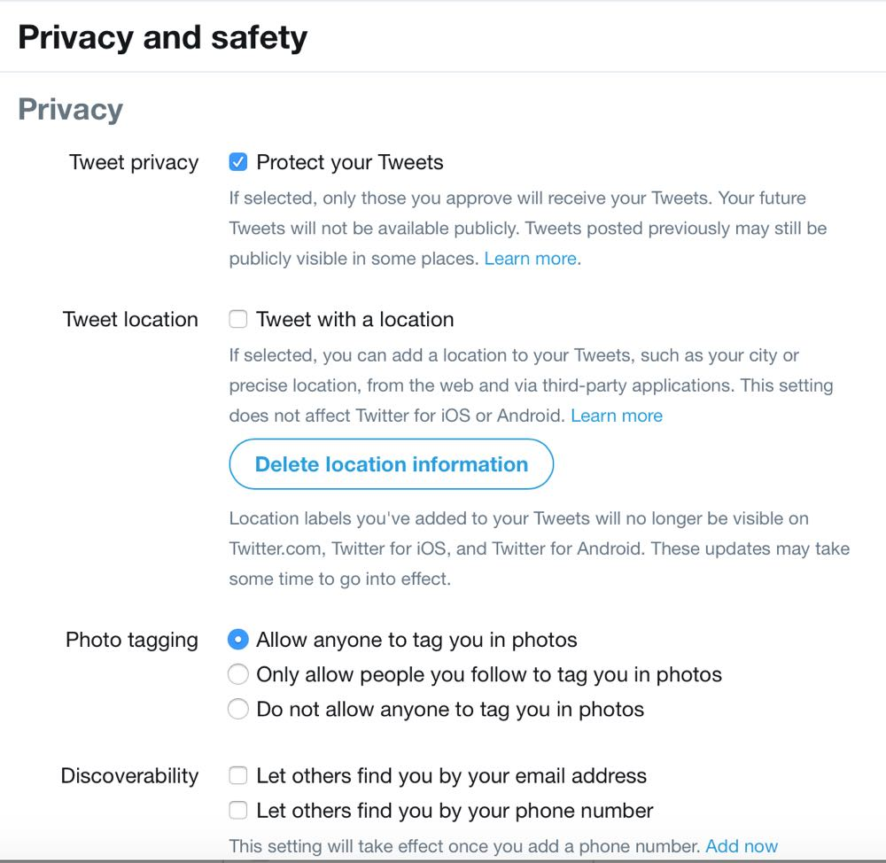 7 tips to make social media profiles private
