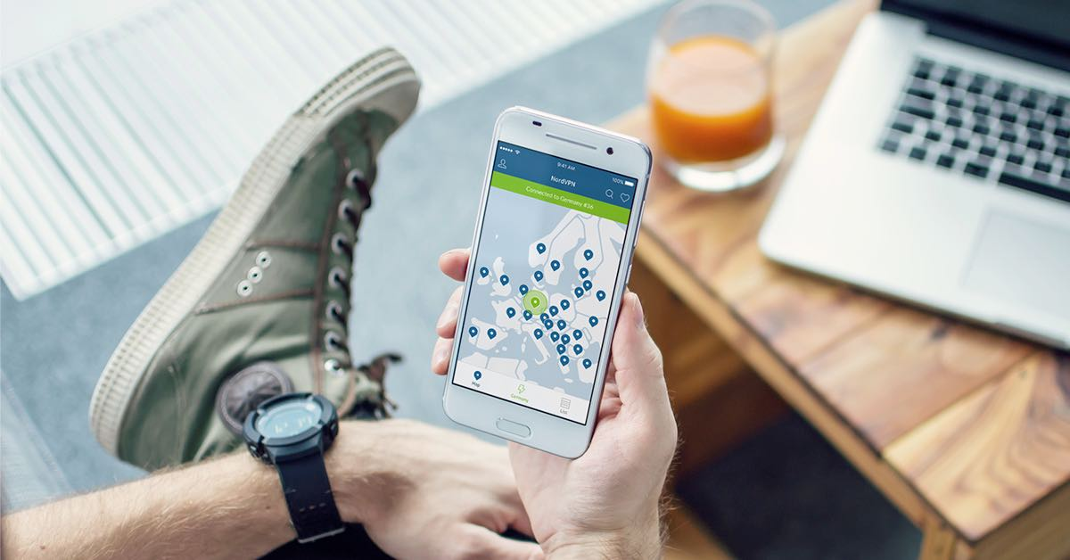 NordVPN app for Android