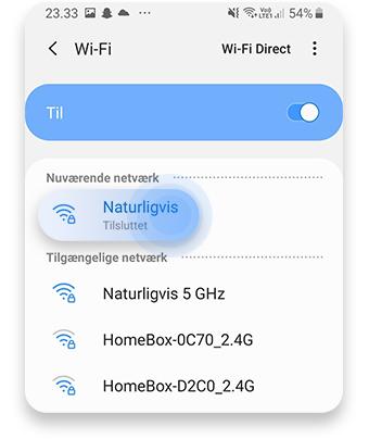 hvordan finder man sin ip adresse android