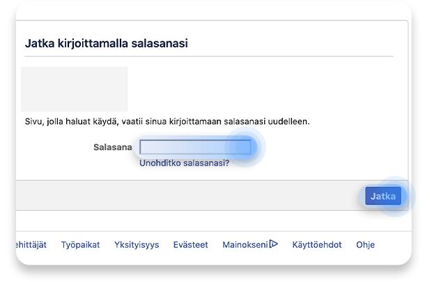Facebook-tilin poistaminen: vaihe 4