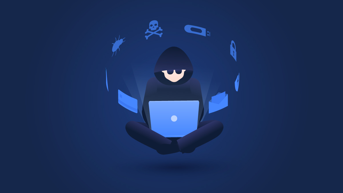 The most common types of hacking on the Internet