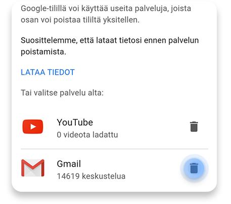 Gmail Tilin Poistaminen Puhelimesta