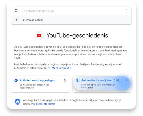 YouTube reactiegeschiedenis verwijderen stap 4